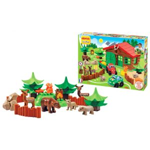 Ecoiffier Abrick Forest House Play Set Toy