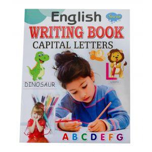 Sawan English Writing Book Capital Letters - Children's Book
