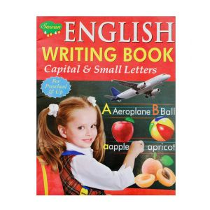 Sawan English Writing Book Capital & Small Letters - Children's Book