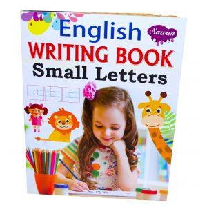 Sawan English Writing Book Small Letters - Children's Book