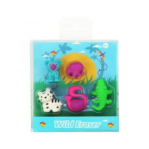 Smily Kiddos Fancy Wild Eraser Set