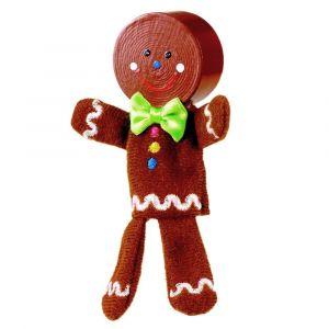Fiesta Crafts Ginger Bread Man Finger Puppet Set
