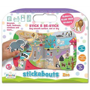 Fiesta Crafts Zoo Stickabouts