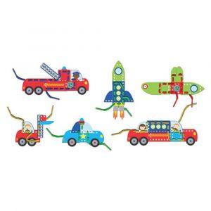 Fiesta Crafts Vehicles Threading Toy