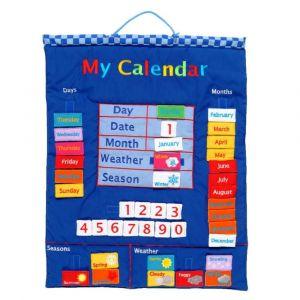 Fiesta Crafts My Calendar Blue Wall Hanging