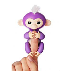 Finger Monkey Toy - Purple