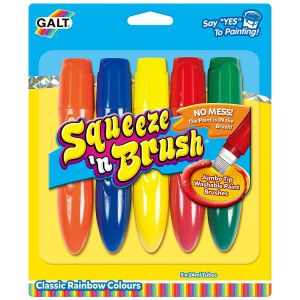 Galt Squeeze and Brush 5 Classic Colours