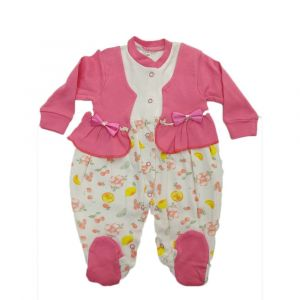 Girls Overall Baby Pink