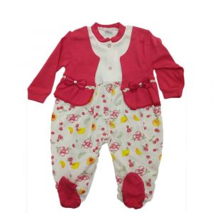 Girls Overall Red