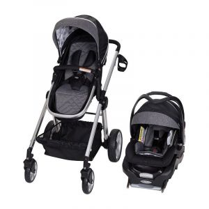 Baby Trend Drip Drop Blue Go Lite Snap Fit Sprout Stroller/Carseat Travel System