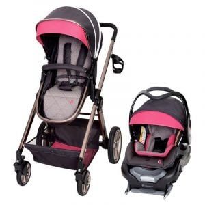 Baby Trend Rose Gold Go Lite Snap Fit Sprout Stroller/Carseat Travel System