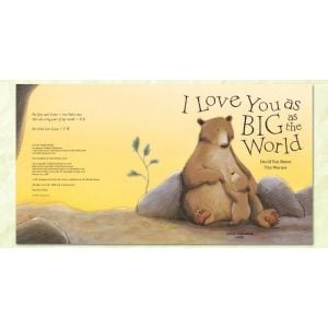 I Love You As Big As The World - Kids Book