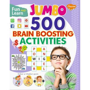 Sawan Jumbo 500 Brain Boosting Activities