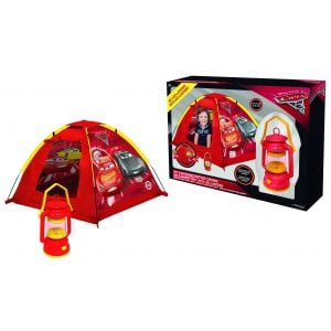 John Disney Cars Garden Tent With Camping Latnern, In Display Box.