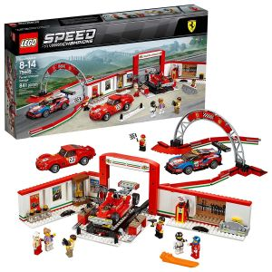 Lego Ferrari Ultimate Garage Block Toys