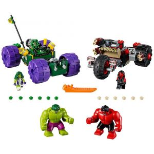 Lego Hulk Vs. Red Hulk Block Toys