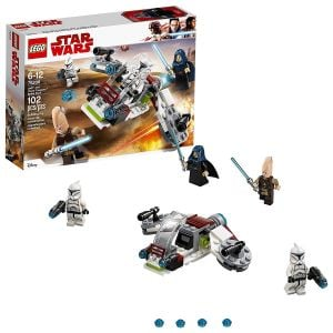 Lego Jedi And Clone Troopers Battle Pack Block Toys