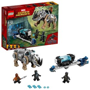 Lego Rhino Face-Off By The Mine Block Toys
