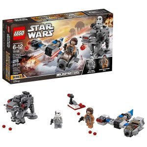 Lego Ski Speeder Vs. First Order Walker Mic Block Toys