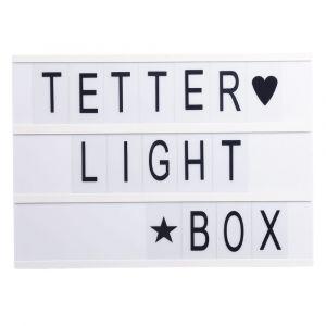 Letter Light Box - A3 - Kids Toys