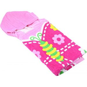 Little 1'S Butterfly Printed Poncho