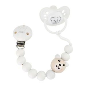 Littlemico Bear Set White 0-6M