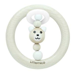 Littlemico White Bear Teether