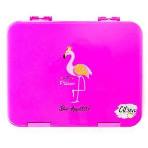 Citron LunchBox Flamingo- 6 Compartments