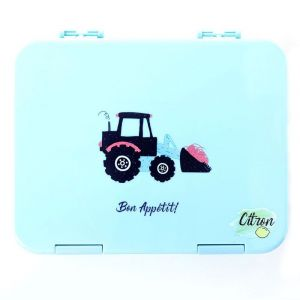 Citron LunchBox Tractor- 6 Compartments