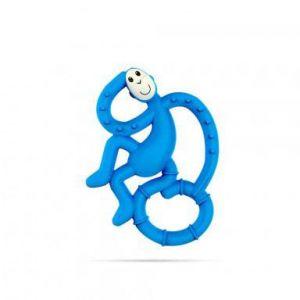 Matchstick Monkey Mini Monkey Teether - Blue