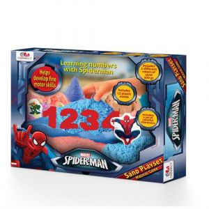 Gw Connect Magic Playsand - Spiderman - Toddler Toys
