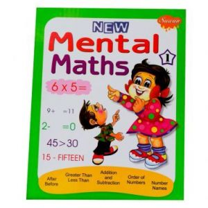 Sawan Mental Maths 1 - Children's Book