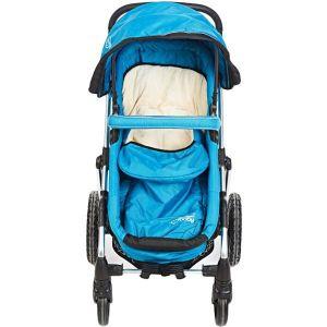 My Baby Blue & Beige Stroller
