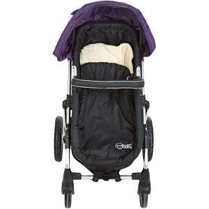 My Baby Black & Purple Stroller