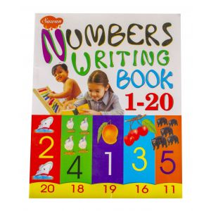 Sawan Numbers Writing Book 1 to 20 - Children's Book
