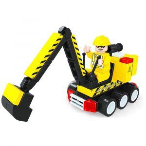 Ox Blocks Construction Digger - 75pcs