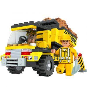 Ox Blocks Construction Truck - 115pcs