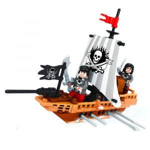 Ox Blocks Pirate Boat - 100pcs