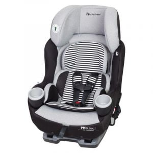 Baby Trend Black/White PROtect Car Seat Series Elite Convertible Car Seat Piano