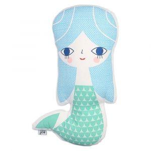 Petit Monkey Mermaid Cushion