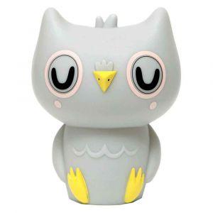 Petit Monkey Grey Owl Night Light