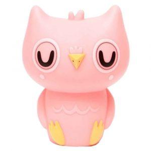 Petit Monkey Pink Owl Night Light