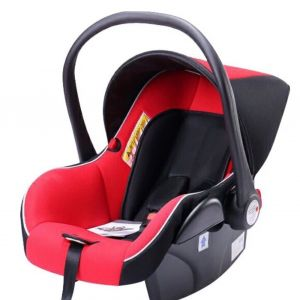 Pikkaboo Red New Style Infant Car Seat