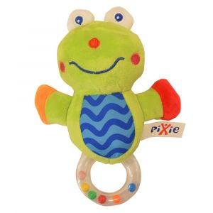 Pixie Frog Rattle Toy