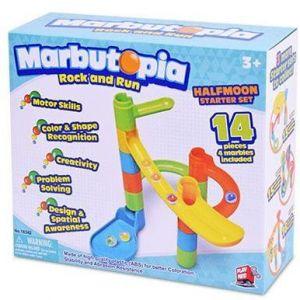 Play Mind Marbutopia Halfmoon Starter Set - 14pcs