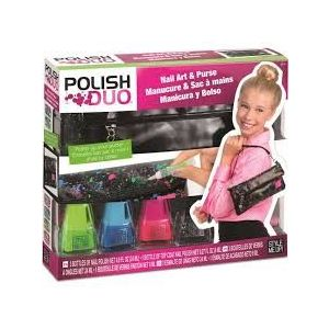 Style Me Up Polish Duo Nail Art and Clutch - Art & Craft Toys
