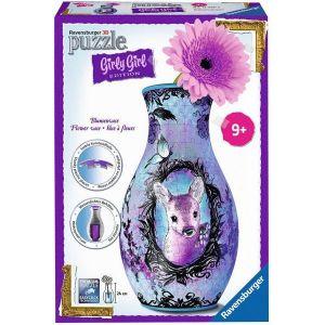 Ravensburger Girly Girl Flower Vase Animal Rend