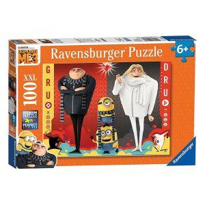 Ravensburger Minions Gru And Dru Despicable Me 3 100 Pieces XXL Puzzle