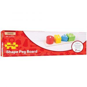 BigJigs Shape Peg Board