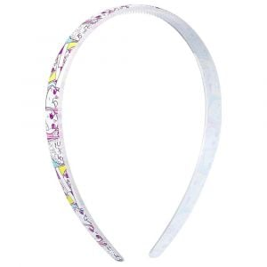 Shopkins Hair Band White